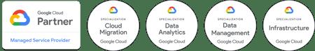 Google Cloud Partner + Data Analytics, Data Management, Infrastructure, Cloud Migration-1